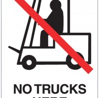 NO TRUCK HERE