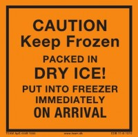 CAUTION KEEP FROZEN