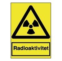 Farlig stråling, A4 hård plast