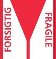 FORSIGTIG/FRAGILE