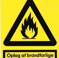 Oplag af brandfarlige væsker, A4