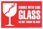 HANDLE WITH CARE GLASS