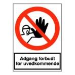Adgang forbudt for uvedkommende (vinyl)