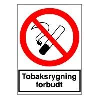 Rygning Forbudt (Plast)