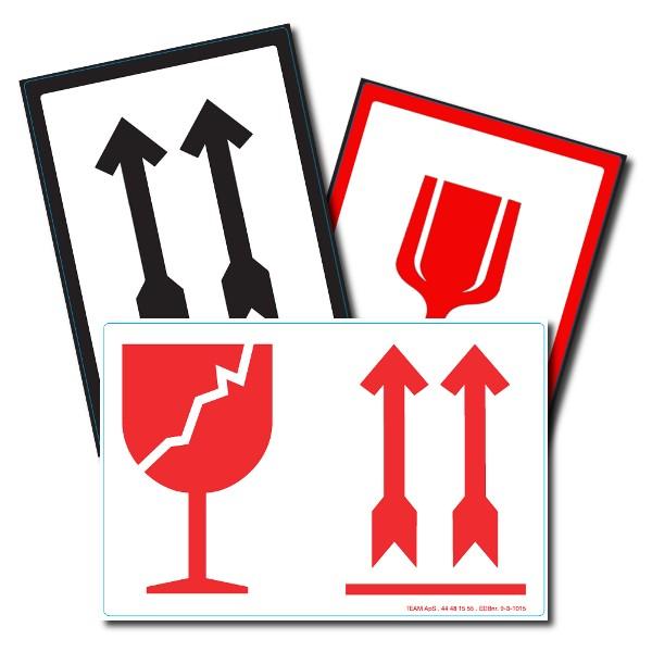 Pil-Glas-Paraply Symboler